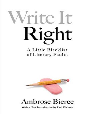 cover image of Write It Right